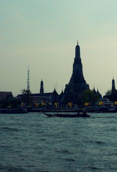 Bankok. Must take river boat and go to the floating market.