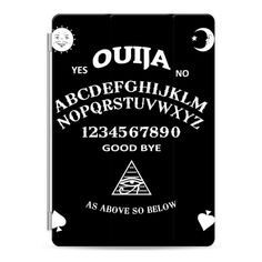 Ouija - iPad Cover / Case featuring polyvore, women's fashion, accessories, tech accessories, ipad cover / case, ipad cover case, ipad cases, ipad sleeve case, apple ipad case and apple ipad cover case