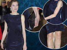 Große Sorge um  Prinzessin Letizia  (40). Bei einem Konzert schien sie deutlich erschlankt - um nicht so zu sagen: mager. Dabei ging es