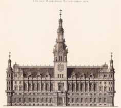 Design for a new City Hall, Hamburg