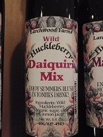 Huckleberry Daiquiri Mix, 8 oz., local to Bonners Ferry