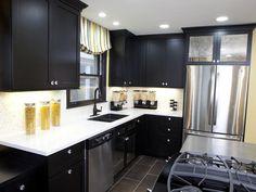 Black Cabinets. Yay or Nay? #pinwithmeg