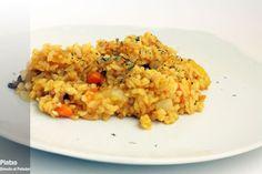 arroz salteado con curry