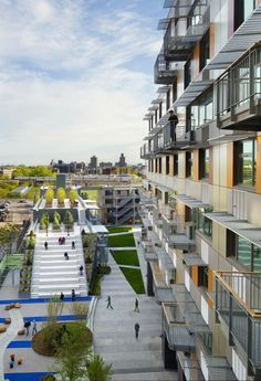 2013 AIA Housing Awards Announced | Via Verde in The Bronx, NY by Dattner Architects and Grimshaw Architects