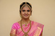 Tamil Bride In Temple Jewellery