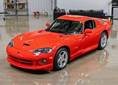This is as close as you'll get to a factory new Dodge Viper GTS from the 90s...