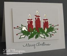 Splitcoaststampers FOOGallery - Candles and Holly