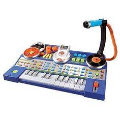 V-Tech KidiJamz DJ Recording Studio so you can encourage the rock-star DJ in your child!