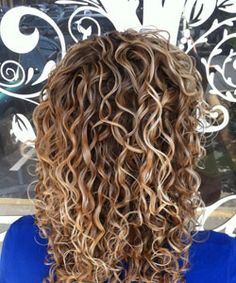 Beautiful blonde curls - part of my  blog for Nc.com Summer Tips For keeping curly hair's color vibrant. MY work, on the front page of naturallycurly.com. #idie. :D