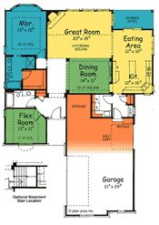 Thorpe  29060 - French Country Home Plan at Design Basics