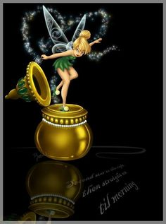 Tinkerbell in the inkwell