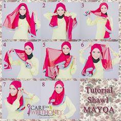 how to wear hijab Hijab Wedding Dresses, Hijab Bride, How To Wear Hijab, How To Wear Scarves, Pashmina Hijab Tutorial, Turban Hijab, Turban Style, Islamic Fashion, Beautiful Hijab