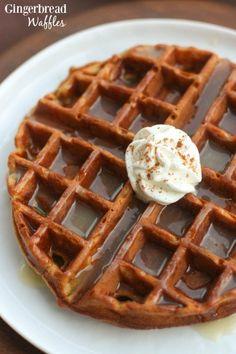 Gingerbread Waffle Recipe » BudgetMeals.info