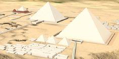 Les 1: piramide van Giza virtueel bezoeken