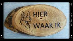 duitse herder waakbord by Mies