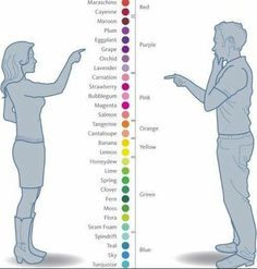 Something to be aware of when you ask your groom-to-be to help pick colours or themes... :) Does your bloke have boy vision.... How they see it, and how we see it :D Hehehe so true!