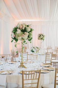 Romantic Blush Colored New Jersey Wedding - MODwedding