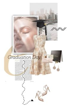 """""""Congrats, Grad: Graduation Day Style"""" by lacas ❤ liked on Polyvore featuring Mark & Graham, Van Peterson 925 and Graduation"""