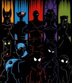 Slade Teen Titans, Teen Titans Raven, Teen Titans Fanart, Teen Titans Go, Teen Titans Videos, Nightwing, Batwoman, Original Teen Titans, Martian Manhunter