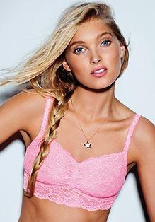 Pale pink Lace Bralette