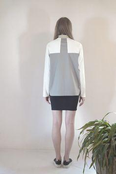 ALVEUS color block bomber coat #PANTHEIST #FLUMENcollection #womenswear
