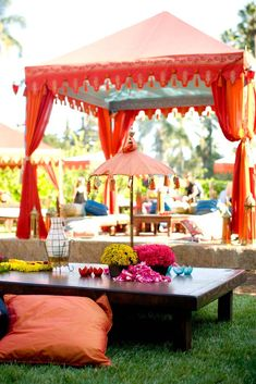 Indian Wedding | parasol | Wedding Tents