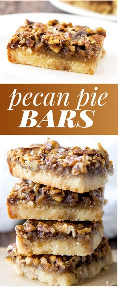 Bars on Pinterest | Pecan pie bars, Caramel bars and Pecan bars