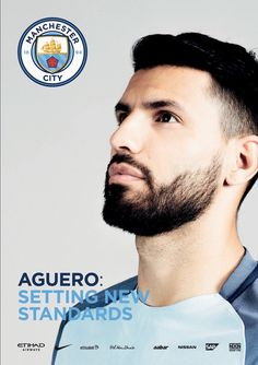 Sergio Kun Aguero Different Beard Styles, Sergio Aguero, Kun Aguero, Football Awards, Football Images, Love Affair, Home And Away, Manchester City, Football Players