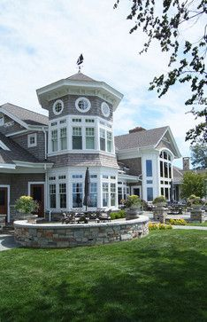 Traditional New England Style Shingle Vacation Cottage On Lake Michigan Dream House