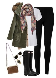 """""""Fall layers"""" by steffiestaffie ❤ liked on Polyvore featuring Max Studio, Scoop, Madewell, Sole Society, Hunter, Henri Bendel, Marc by Marc Jacobs and J.Crew"""
