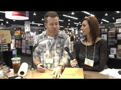 ▶ CHA2014 - Tim Holtz Shows His New Stella Lamp - YouTube