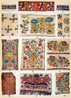 Greek embroidery patterns Greek embroidery patterns 19th century