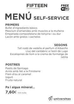 Propuesta 2 de Fifteen para hoy 22-11: #dieta #mediterránea en #Barcelona a precio espectacular: 7,60€