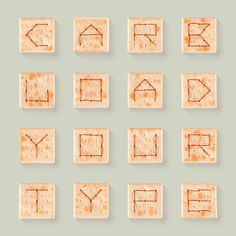 Alphabet Soup Crackers by Matthew Olin