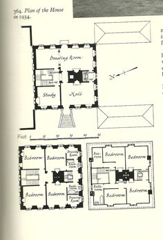 Floor Plans For A Hotel Particulier Maps Charts Graphs