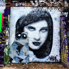 "As I starred and looked deeply into her eyes, I saw.. ""Anger"" #StreetArt by @0707art / ##Art #Artist #Artwork #StreetArtEverywhere #Paint #Painting #SprayPaint #StreetPhotography #Graffiti #Draw #WallArt #Mural #Illustration #UrbanArt #StreetArtPhotography #Photographer #ArtUrbain #eyes / #London #EastLondon #BrickLane #Shoreditch #LondonStreetArt / #Muse"