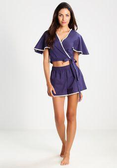 mint&berry Pyjamassett - blue - Zalando.no