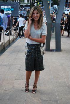 Nina Garcia, Marie Claire. Fashion Week 9.9.12