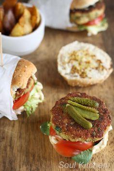 Aubergine burgers - Hamburguesas de berenjena #soulkitchen