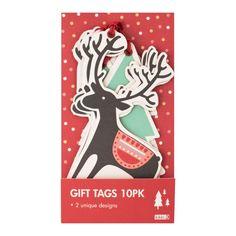 Kikki K: Christmas Winterland Gift Tags 10pk #cute $7.95