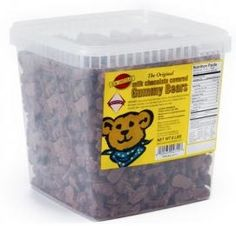 A Koppers Chocolate Original: real Swedish gummi bears coated with our amazing milk chocolate