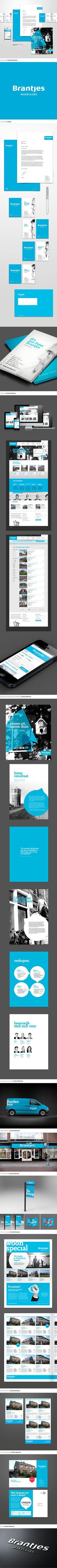Brantjes Makelaars Corporate identity + brand design | Sixtyseven | Communicatie en reclamebureau | Beverwijk