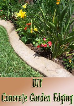 Looking for an inexpensive, lasting way to set apart your planting beds? Use these steps to make concrete garden edging in any length you wish. Perhaps most appealing of all is that concrete garden edging lasts for years and years.