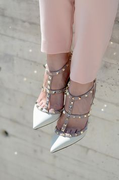 #fashion #shoes Oh My Vogue: Pastels on repeat