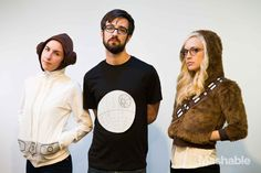 Costume Ideas for Lazy People: Star Wars, Princess Leia, Death Star, Chewbacca