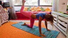 dorm room pilates