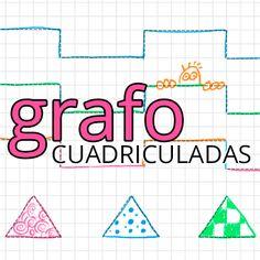 Fichas educativas para niños: grafo infantil cuadriculada. Repasar líneas y formas. Aprender a hacer trazos finos con el lápiz. Fichas infantiles gratis. #grafo #infantil