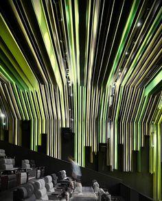 International theater auditorium ceiling design