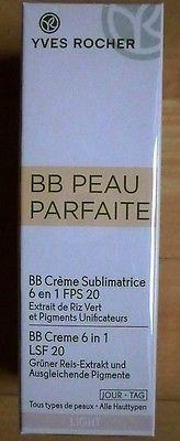 YVES ROCHER, BB Peau Parfaite, BB Creme 6 in 1, Light, LSF 20, 50ml, NEUsparen25.com , sparen25.de , sparen25.info