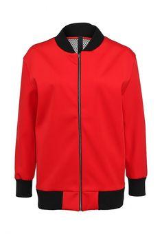 Куртка AQ/AQ женская. Цвет: красный. Сезон: Осень-зима 2013/2014. С бесплатной доставкой и примеркой на Lamoda. http://j.mp/1ovTFcE